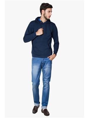 Lee Marc  Dark Blue Men Sweatshirts