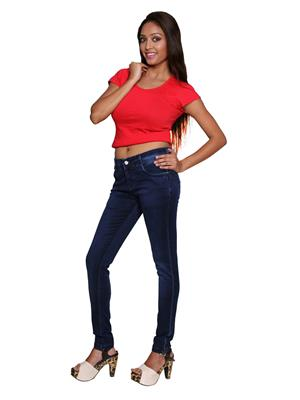 Remi Des-004 Blue Women Jeans