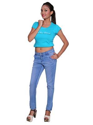 Remi Des-007 Blue Women Jeans