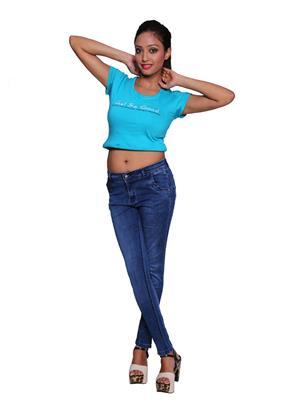 Remi Des-008 Blue Women Jeans