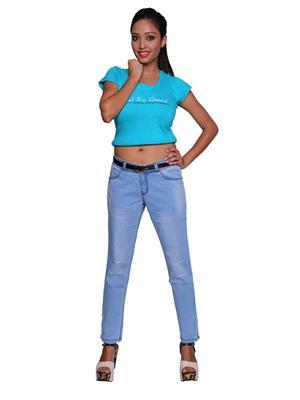 Remi Des-009 Blue Women Jeans