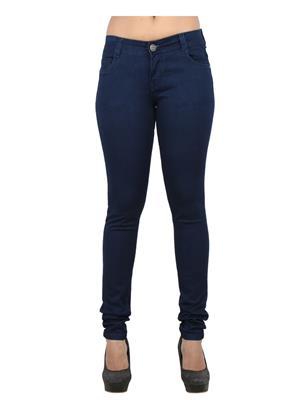 EBONY-nx dno.2555 Blue Women Jeans