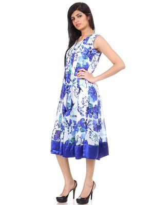 Fashion Planet 410 Blue Women Kurti