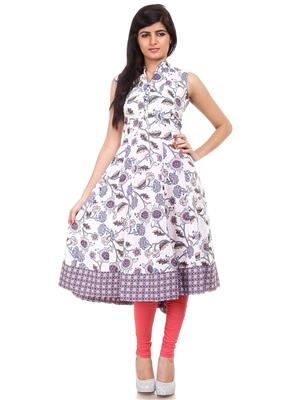 Fashion Planet 412 Floral Print Women Kurti