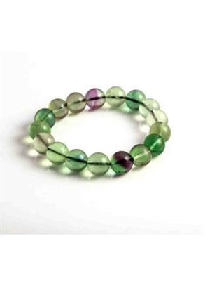 SriRaam Krishna Crystals g3 Light Green Stone Bracelet