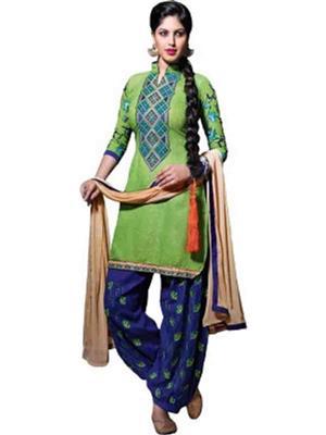 Vandu Fashion g3 Green Women Dress Material