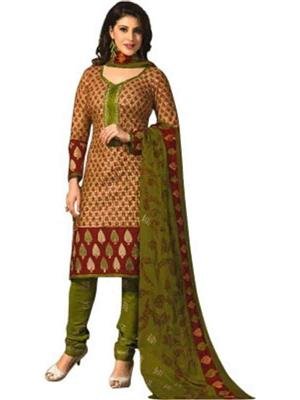 Piku Collection g3 Green Women Dress Material