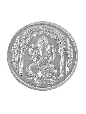 Love Bright Jewelry ganesha-ag10  White Women Silver Coins