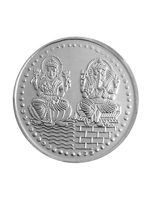 Love Bright Jewelry ganish-laksmi-om-ag10  White Women Silver Coins