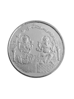 Love Bright Jewelry ganish-laksmi-shubh-ag  White Women Silver Coins