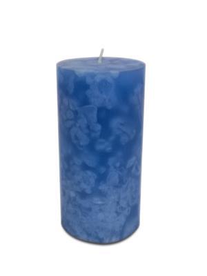 Pride & Joy Cloud Effect- Blue Pillar Candle Candle