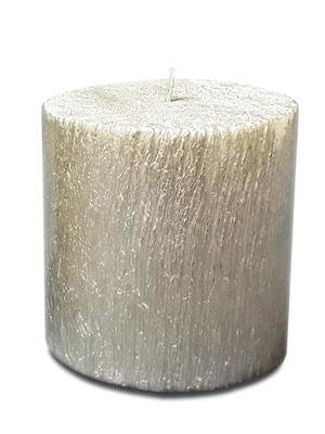 Pride & Joy Silver Tree Texture (Small)  Candle