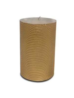 Pride & Joy Ripple Effect- Golden  Candle