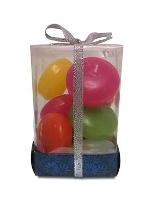 Pride & Joy Multicoloured Nuggets Set of 9 Candle