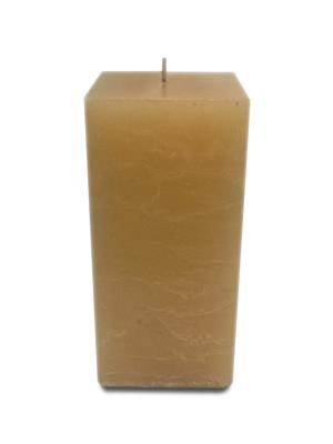 Pride & Joy Rustic Pillar - Honey Candle