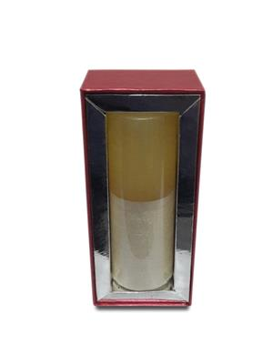 Pride & Joy White & Pearl White Textured Scented - Sandalwood Candle