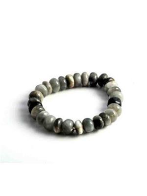 SriRaam Krishna Crystals gr1 Gray  Stone Bracelet