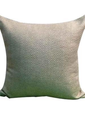 QUILT INDIA  gr2  Grey  Printed  Cushion Cover