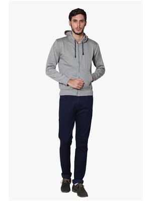 Lee Marc  Grey-7 Men Sweatshirts