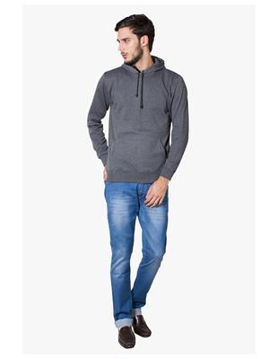 Lee Marc  Grey Men Sweatshirts