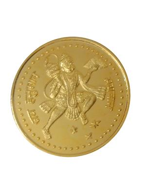 Love Bright Jewelry hanuman-agvy10  Yellow Women Silver Coins