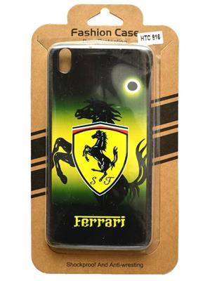 Fashion Case FC12  Green Print HTC 816  Mobile Case Cover