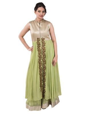 Iqra Exclusive 003 Green Women Gown