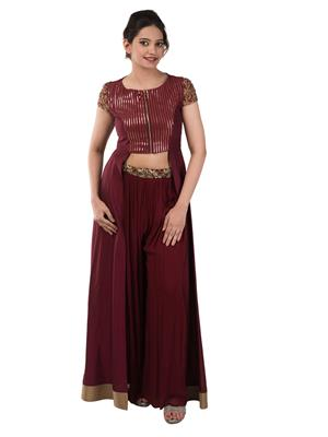 Iqra Exclusive 022 Red Women Gown