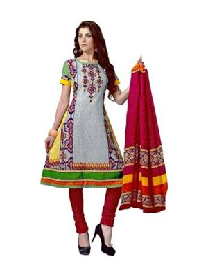 Jay Collection Jay31 Multicolored Women Dress Material