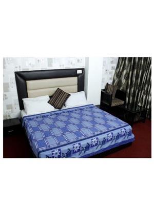 Jazz Jsingleset2Polar100 Multicolored Single Fleece Blanket (Buy 1 Get 1 Free)