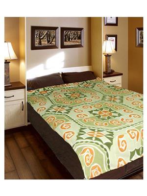 Jazz Jsingleset2Polar127 Multicolored Single Fleece Blanket (Buy 1 Get 1 Free)
