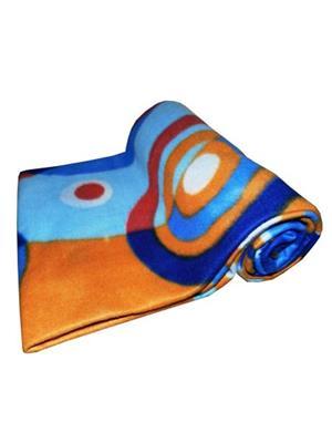 Jazz Jsingleset2Polar185 Multicolored Single Fleece Blanket (Buy 1 Get 1 Free)