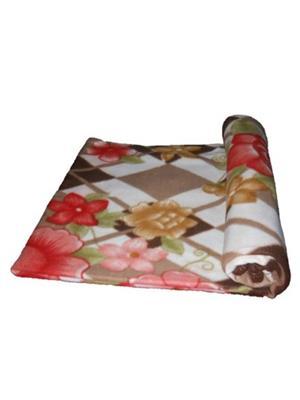 Jazz Jsingleset2Polar276 Multicolored Single Fleece Blanket (Buy 1 Get 1 Free)