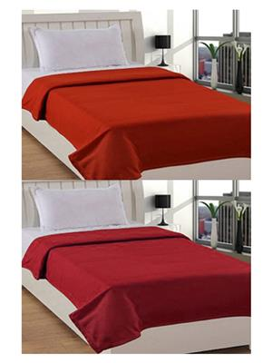 Jazz Jsingleset2Polar317 Multicolored Single Fleece Blanket (Buy 1 Get 1 Free)