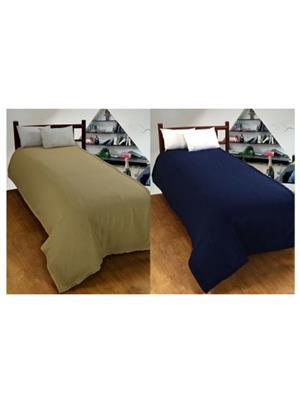 Jazz Jsingleset2Polar402 Multicolored Single Fleece Blanket (Buy 1 Get 1 Free)