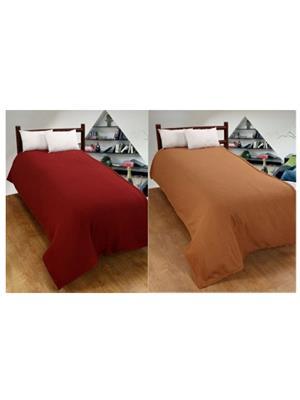 Jazz Jsingleset2Polar407 Multicolored Single Fleece Blanket (Buy 1 Get 1 Free)