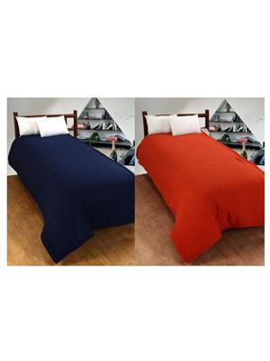 Jazz Jsingleset2Polar408 Multicolored Single Fleece Blanket (Buy 1 Get 1 Free)