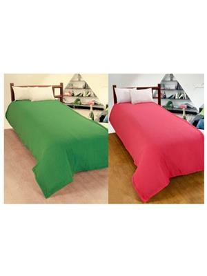 Jazz Jsingleset2Polar419 Multicolored Single Fleece Blanket (Buy 1 Get 1 Free)