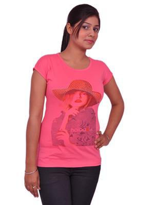 Jevaraz jvrz10017 Pink Women T Shirt
