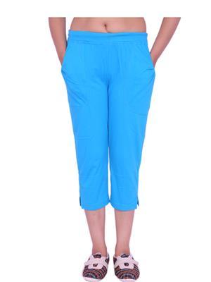 Jevaraz jvrz223002 Blue Women Capri