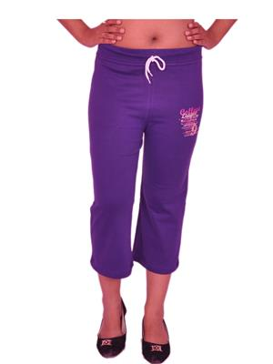 Jevaraz jvrz227002 Purple Women Capri