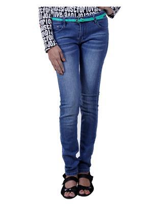 Jevaraz 612 Blue Women Jeans