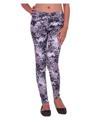 Jevaraz 8007 Black Women Jeans