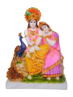 Décor k2 White  Krishna  Idols