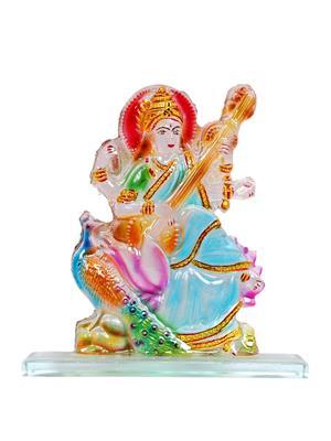 Kanch mall kanch _38  Multicolour Blissful Padmakshi Idol