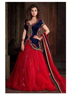 Krishna ke788 Red Women lehenga Cholis
