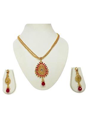 khetlazee kh1004 Golden Women Jewellery Set