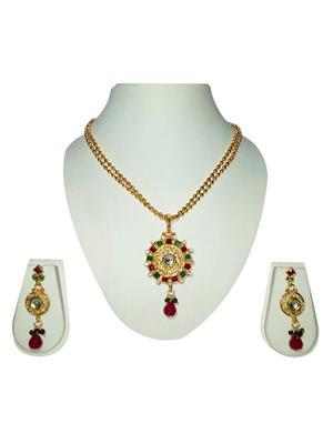 khetlazee kh1010 Golden Women Jewellery Set