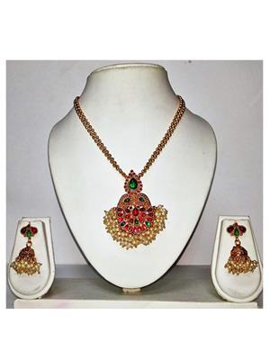 khetlazee kh1040 Golden Women Jewellery Set