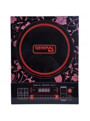 General Aux Koi82-A Black 2000 W Induction Cooktop